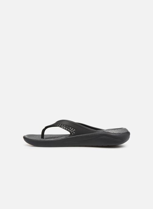 Slippers Crocs LiteRide Flip M Grijs voorkant