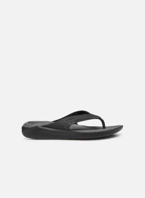Slippers Crocs LiteRide Flip M Grijs achterkant