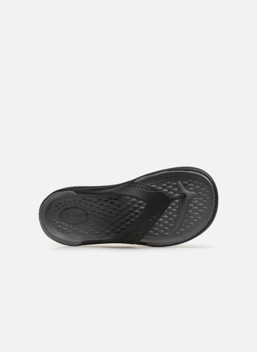 Slippers Crocs LiteRide Flip M Grijs links