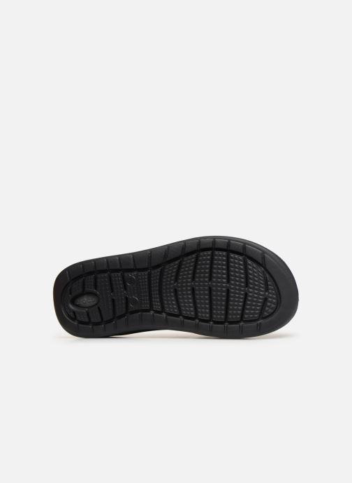 Slippers Crocs LiteRide Flip M Grijs boven