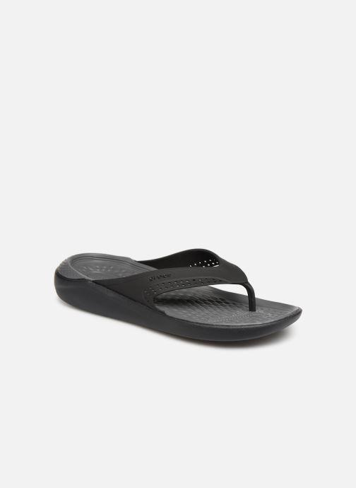 Slippers Crocs LiteRide Flip M Grijs detail