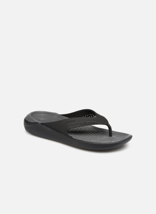 Flip flops & klipklapper Crocs LiteRide Flip M Grå detaljeret billede af skoene