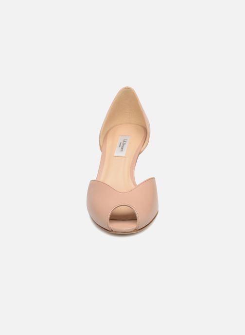 Escarpins L.K. Bennett Tatiana Beige vue portées chaussures
