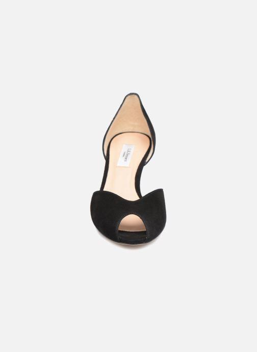 Escarpins L.K. Bennett Tatiana Noir vue portées chaussures