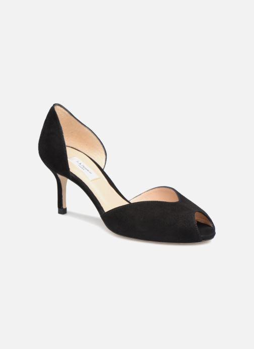Høje hæle L.K. Bennett Tatiana Sort detaljeret billede af skoene