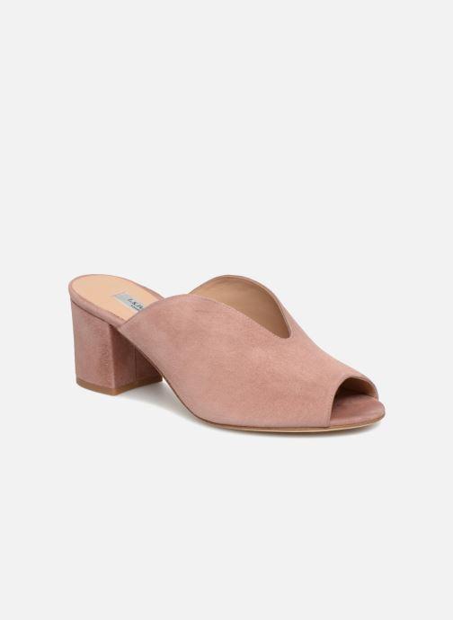 Clogs og træsko L.K. Bennett Jagoda Pink detaljeret billede af skoene