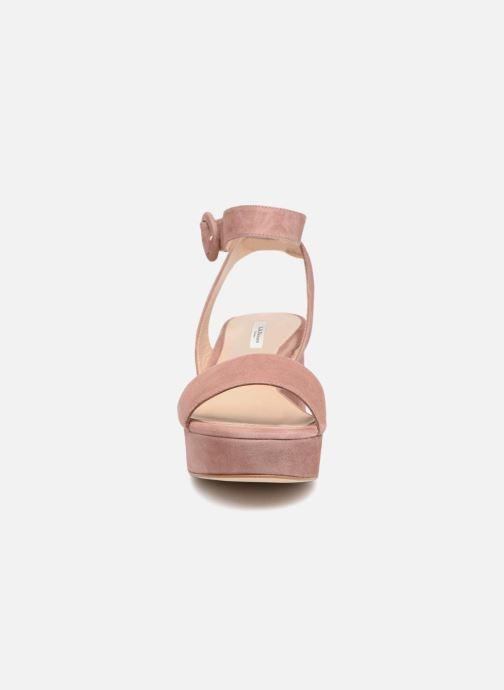 Sandali e scarpe aperte L.K. Bennett Alie Rosa modello indossato