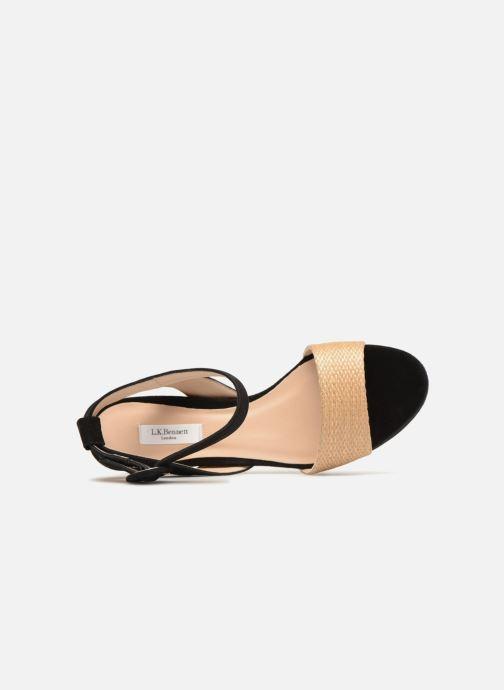 Sandales et nu-pieds L.K. Bennett Alie Beige vue gauche