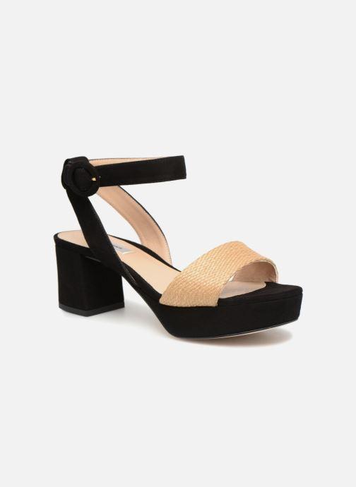 Sandales et nu-pieds L.K. Bennett Alie Beige vue détail/paire