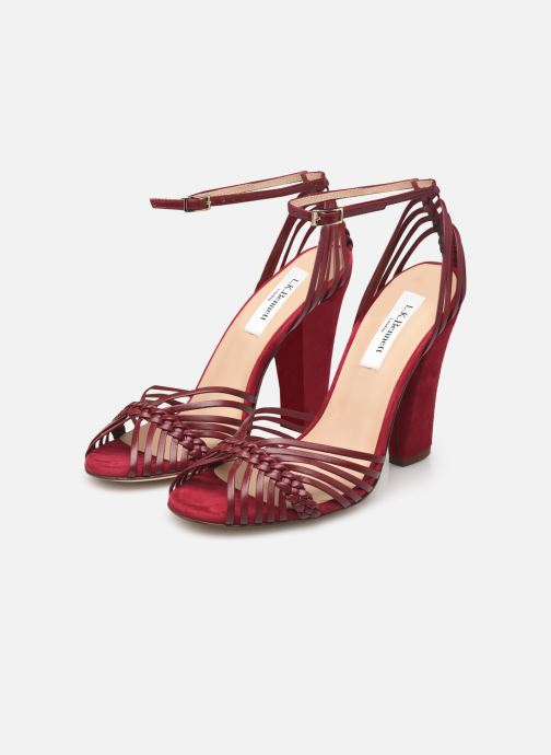 Sandales et nu-pieds L.K. Bennett Lilybelle Violet vue bas / vue portée sac