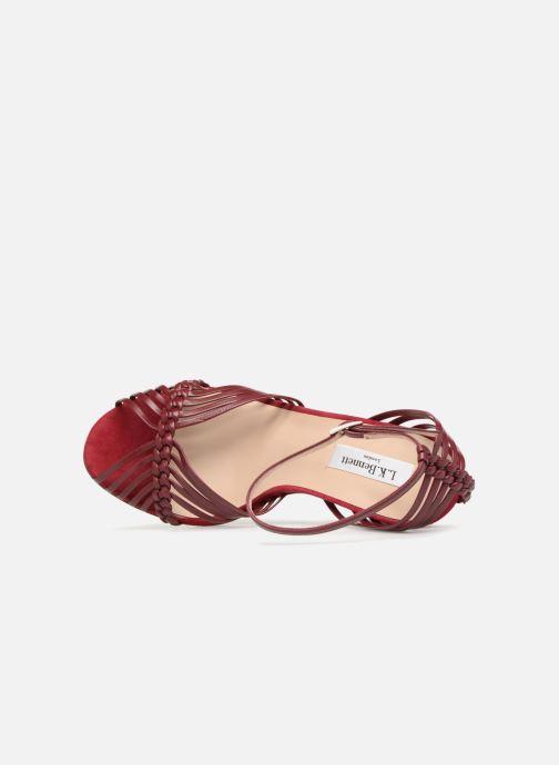 Sandales et nu-pieds L.K. Bennett Lilybelle Violet vue gauche