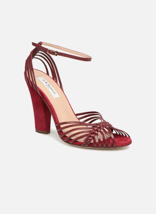 Sandales et nu-pieds L.K. Bennett Lilybelle Violet vue détail/paire