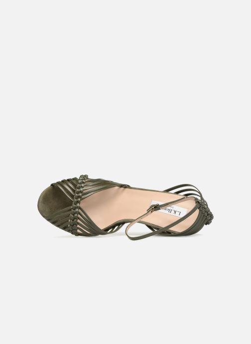 Sandales et nu-pieds L.K. Bennett Lilybelle Vert vue gauche