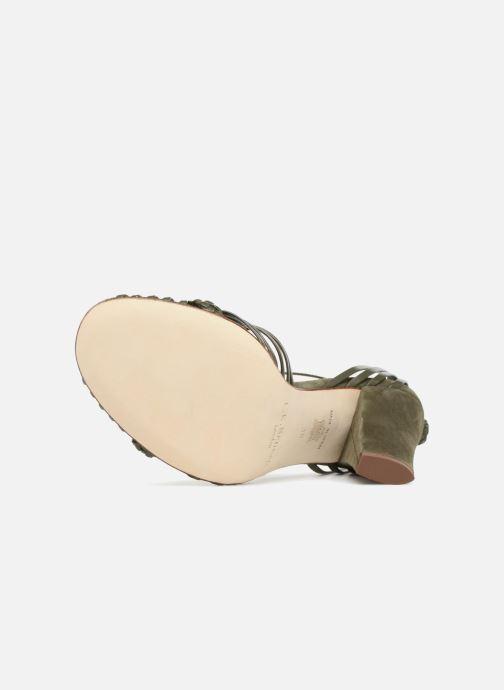 Sandales et nu-pieds L.K. Bennett Lilybelle Vert vue haut