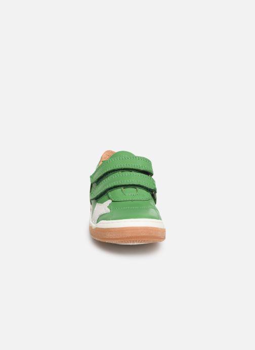 Sneakers Bisgaard Ebbe Verde modello indossato