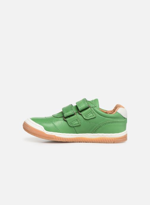 Sneaker Bisgaard Ebbe grün ansicht von vorne