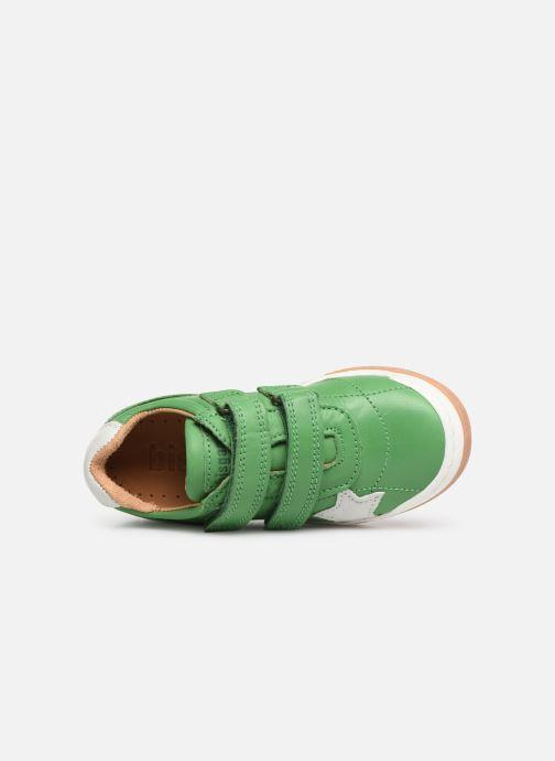 Sneaker Bisgaard Ebbe grün ansicht von links