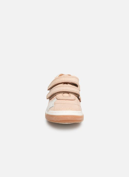 Baskets Bisgaard Ebbe Or et bronze vue portées chaussures