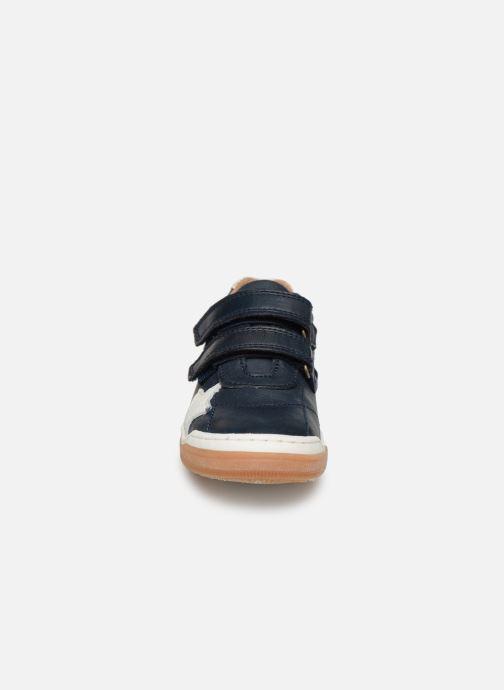 Sneakers Bisgaard Ebbe Azzurro modello indossato