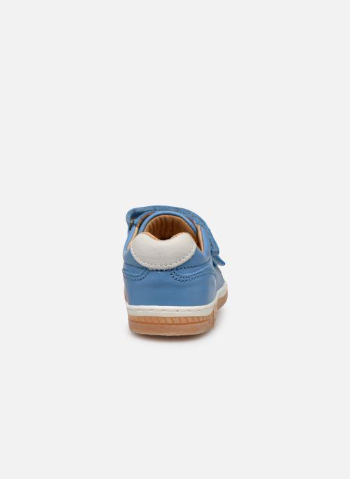 Sneaker Bisgaard Ebbe blau ansicht von rechts