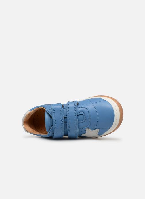 Sneaker Bisgaard Ebbe blau ansicht von links