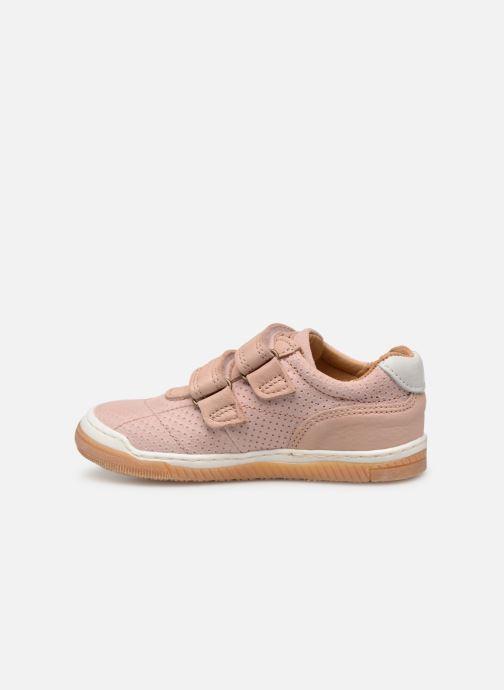 Sneaker Bisgaard Ebbe rosa ansicht von vorne