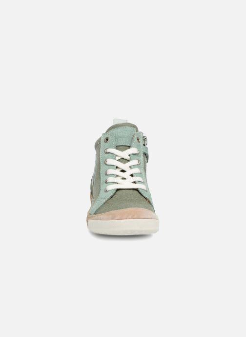 Baskets Bisgaard Jiar Vert vue portées chaussures