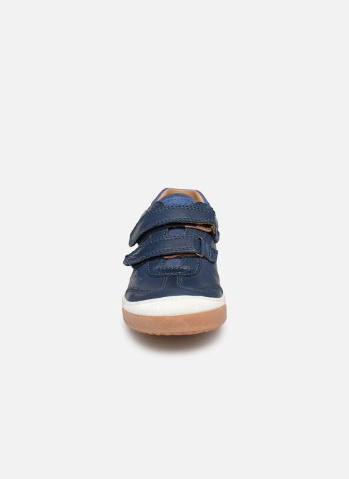 Baskets Bisgaard Buster Bleu vue portées chaussures