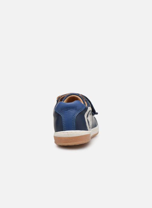 Sneaker Bisgaard Konrad blau ansicht von rechts