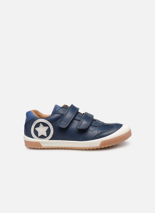 Sneaker Bisgaard Konrad blau ansicht von hinten