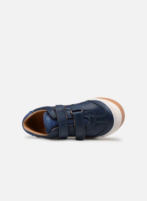 Sneaker Bisgaard Konrad blau ansicht von links