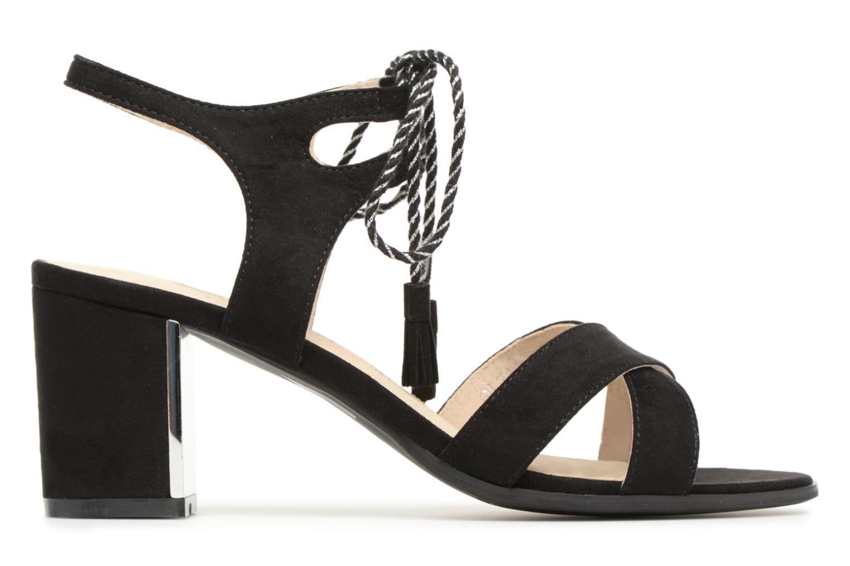 Sandales et nu-pieds Divine Factory Armelle Noir vue derrière