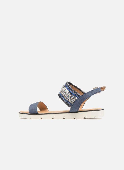 Sandalen Divine Factory Anna blau ansicht von vorne