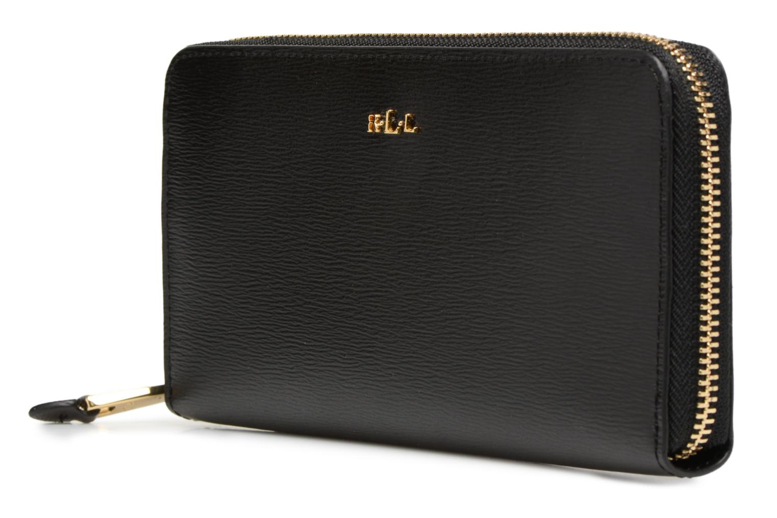 Black Zip by Lauren Ralph Around Lauren Wallet black TpYxgPwnqO