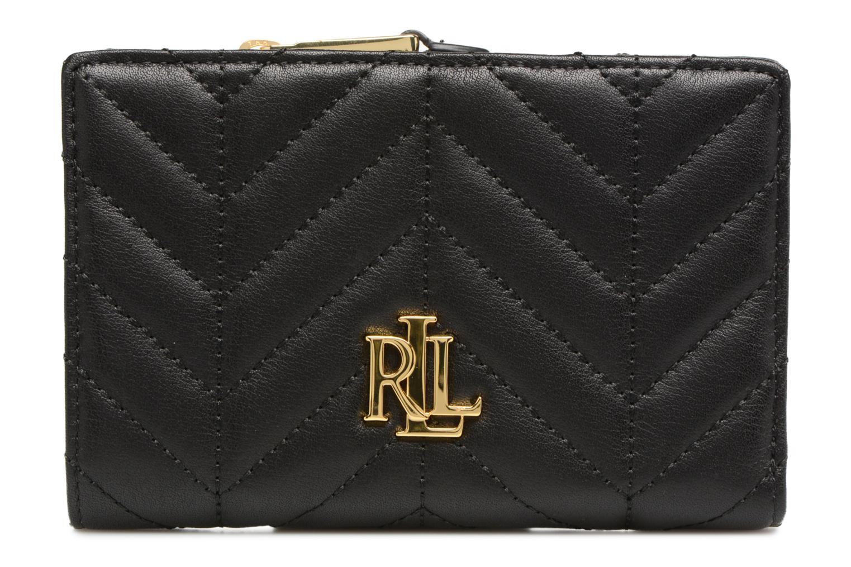 Ralph Black Compact New by Wallet Lauren Small Lauren UqW7gn85