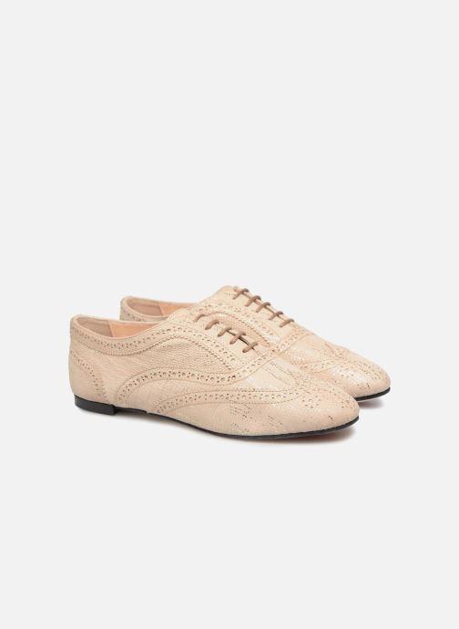 Chaussures à lacets Opéra national de Paris Olwen 1438 Beige vue 3/4
