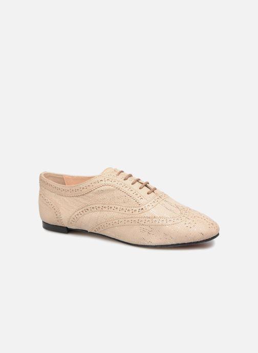 Chaussures à lacets Opéra national de Paris Olwen 1438 Beige vue détail/paire