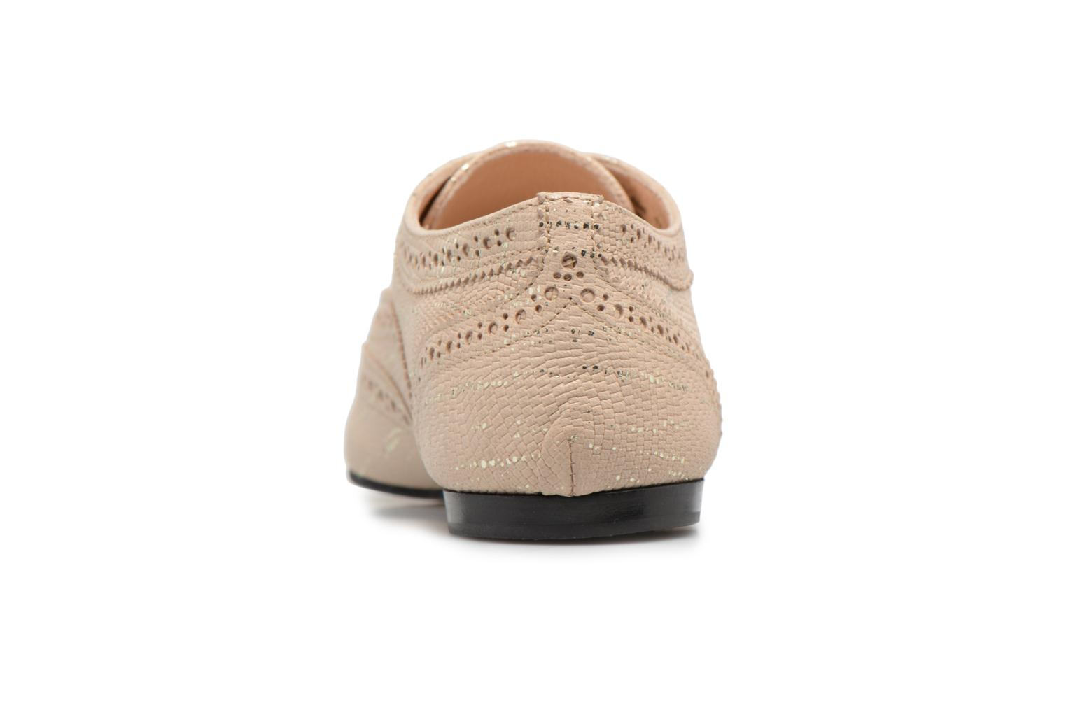 Lace-up shoes Opéra national de Paris Olwen 1438 Beige view from the right