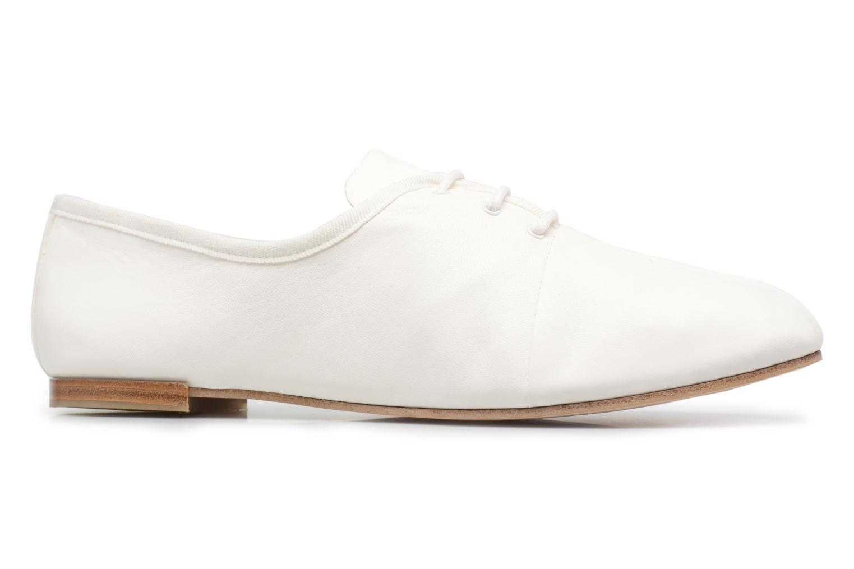 Chaussures à lacets Opéra national de Paris Elme 1421 Blanc vue derrière