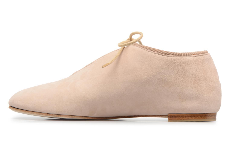 Chaussures à lacets Opéra national de Paris Elysee 1404 Beige vue face