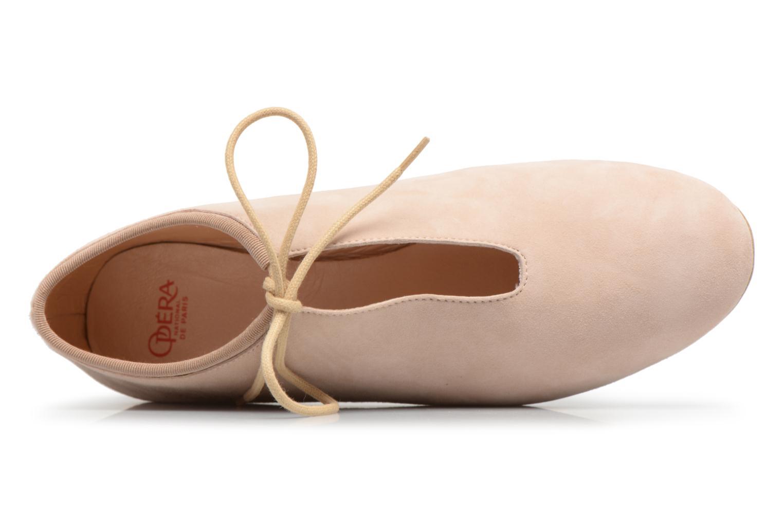 Chaussures à lacets Opéra national de Paris Elysee 1404 Beige vue gauche