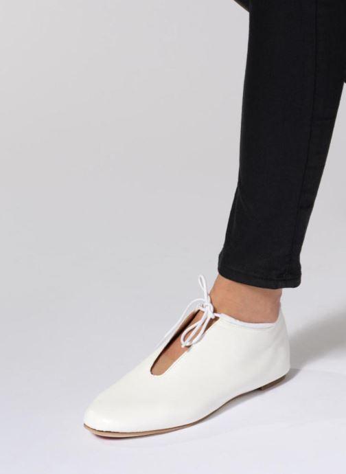 1421 À National Blanc De 900 Chaussures Opéra Lacets Paris Elysee vN0wym8On