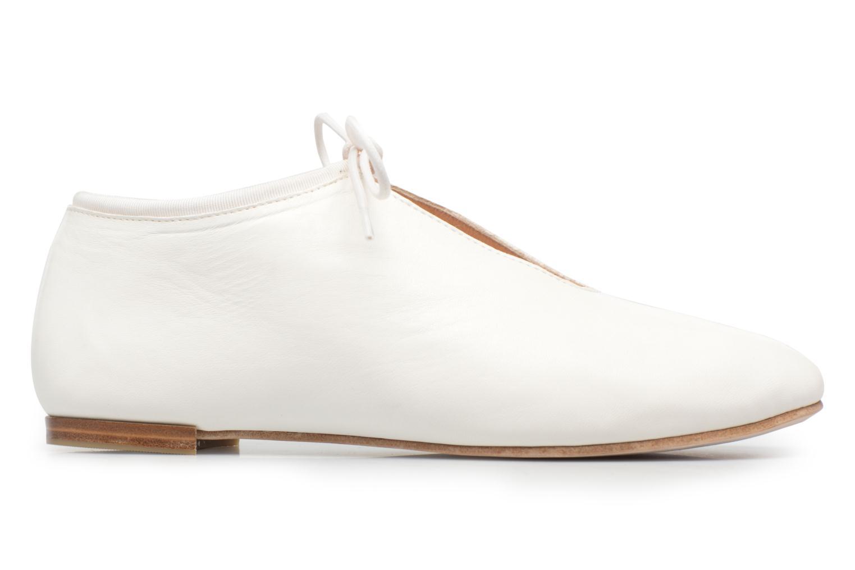 Chaussures à lacets Opéra national de Paris Elysee 1421 Blanc vue derrière