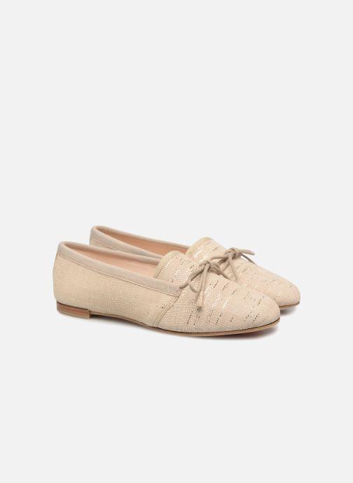 Chaussures à lacets Opéra national de Paris Elika 1438 Beige vue 3/4