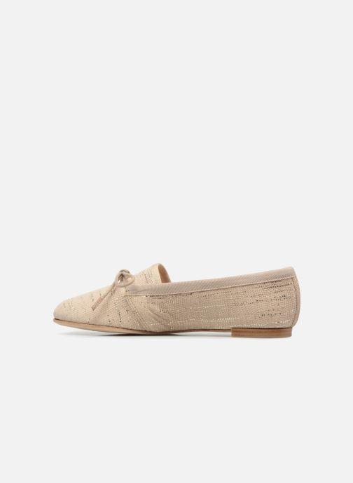 Zapatos con cordones Opéra national de Paris Elika 1438 Beige vista de frente