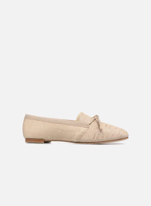 Zapatos con cordones Opéra national de Paris Elika 1438 Beige vistra trasera