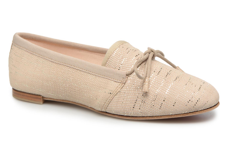Chaussures à lacets Opéra national de Paris Elika 1438 Beige vue détail/paire
