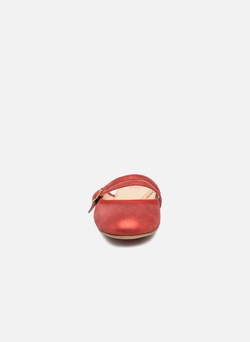 Mules et sabots Opéra national de Paris Enoly 1326 Rouge vue portées chaussures