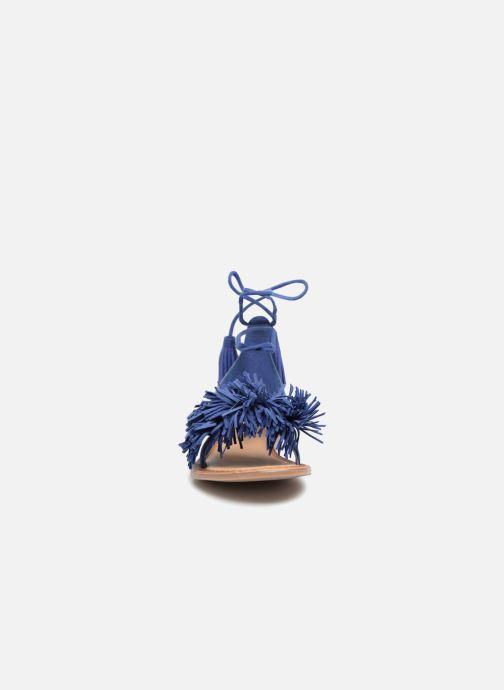 Sandales et nu-pieds I Love Shoes Kelipom Leather Bleu vue portées chaussures