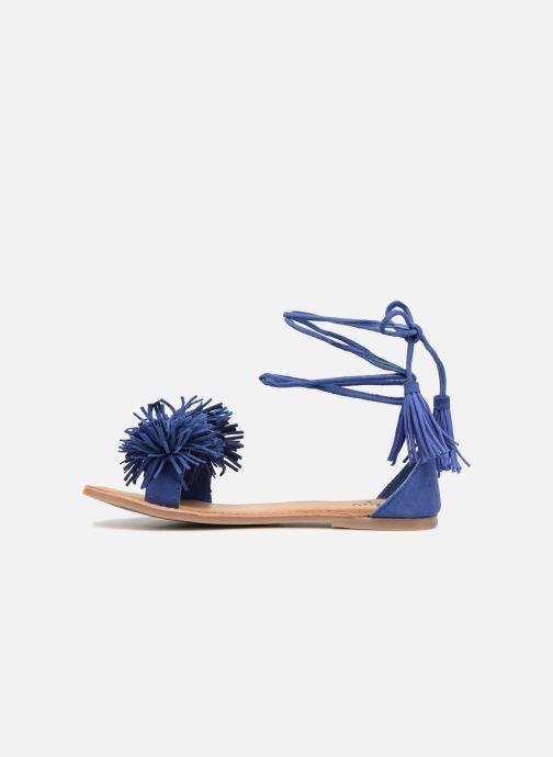 Sandales et nu-pieds I Love Shoes Kelipom Leather Bleu vue face